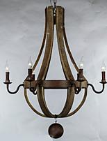 5W מנורות תלויות ,  וינטאג' / רטרו / גס עץ מאפיין for מעצבים מתכת חדר אוכל / חדר עבודה / משרד