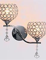 Led Modern Minimalist Living Room Corridor Corridor Crystal Wall Lamp