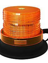 Jiawen 5 imã polegadas para atrair luz estroboscópica LED âmbar de flash aviso luz dc 12v luz de emergência à prova de água