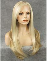 imstyle 24''elegant длинные естественные прямые синтетические кружева парик фронта