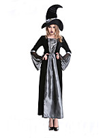 Long Sexy Witch Costume Deluxe Adult Womens Magic Moment  Cosplay