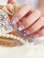 24 super mooie manicure slice patch manicure nep-nagels een bruid