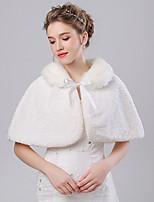 Women's Wrap Capelets Faux Fur / Imitation Cashmere Wedding / Party/Evening Pattern