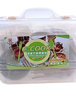 Voyage Bouteille & Tasse de Voyage Ustensiles de Voyage pour Manger Portable Plastique