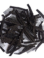 60 pcs/Lot Wig Making Combs and Clips For Wig Cap Black Color Wholesale Wig Accessories