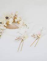 Women's Rhinestone / Fabric Headpiece-Wedding / Special Occasion / Casual / Outdoor Wreaths 1 Piece