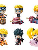 Naruto Hokage PVC 5cm Anime Action Figures Model Toys Doll Toy 1set