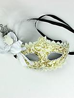 1pc halloween máscara sexy lace escavar laço máscara apelo visual