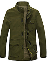 Hiking Softshell Jacket Men's Waterproof / Breathable / Thermal  / Quick Dry / Windproof / Spring / Fall/TactelArmy