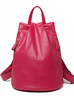 Women PU Casual / Outdoor Backpack Blue / Brown / Black / Burgundy / Fuchsia