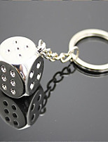 Dice Key Chain Ornaments Personalized Car Accessories