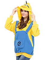 Ispirato da Cosplay Cosplay Anime Costumi Cosplay Felpe Cosplay Collage Giallo Maniche lunghe Top