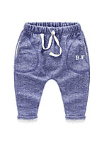 Boy's Casual/Daily Solid PantsCotton Spring / Fall Blue / Gray