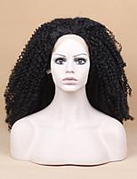 Sylvia синтетический парик фронта шнурка черные волосы жаропрочные длинные вьющиеся кудрявый синтетические парики