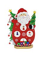 обратите внимание, красный Санта снеговик рабочего стола украшение Новогоднее украшение