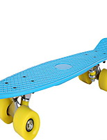 The new hot plastic children round fish skateboardScooter other Red / Yellow / Green / Blue / Black Unisex kids PU