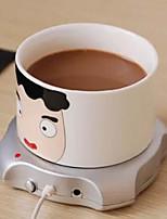4-портовый USB-концентратор для подогрева чашек кофе чай офис кружка обогреватель коврик коврик 2.5w 5v зимний напиток теплый компьютер