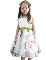 Vestido Chica de-Noche-Floral-Otros-Verano-Rosa / Amarillo