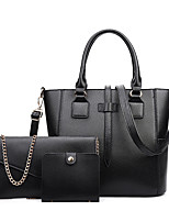 Women PU Formal Casual Office & Career Bag Sets