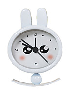 Sam Hing Mini Rabbit Rabbit Metal Swing Clock