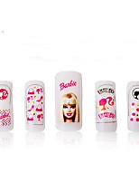 1 Nail Art Sticker Autocolantes de Unhas 3D maquiagem Cosméticos Prego Design Arte