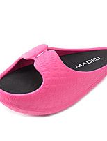 Women's Slippers & Flip-Flops Spring / Summer / Fall Novelty PU Outdoor / Casual Flat Heel Black / Red Others