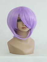 новый японский аниме счастливая звезда Чукаса мило 35см короткий светло-фиолетовый парик косплей