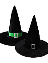 1PC Rectangular Wizard Hat For Halloween Costume Party Random Color