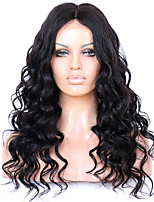 8 to 22 inches Brazilian Human Hair New Loose Wave Wigs 4.5 Deep Part Glueless Lace Front Wigs For Black Women