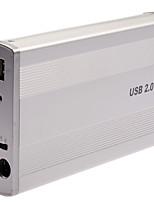 3,5 дюйма алюминиевый рабочий стол язь параллельный интерфейс USB внешний жесткий диск коробка