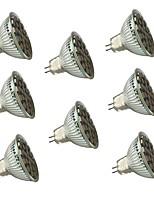 5W GU5.3(MR16) Spot LED MR16 27 SMD 5050 450 lm Blanc Chaud / Blanc Froid Gradable / Décorative V 8 pièces