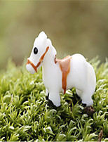 E Micro-Moss Micro-Landscape Decoration Decoration Small White Horse Decoration DIY Materials