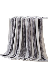 Flannel Grey,Solid Solid 100% Polyester Blankets 200x230cm