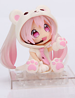 Cosplay Snow Miku PVC 14cm Figures Anime Action Jouets modèle Doll Toy