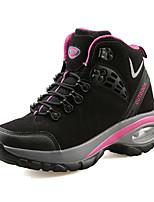 Women's Sneakers Spring / Fall Comfort Fabric Casual Flat Heel Black / Purple / Red Sneaker