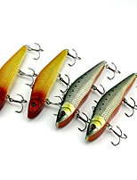 1 pcs Hard Bait / Fishing Lures Hard Bait Random Colors 48.5 g Ounce mm inch,Hard Plastic Bait Casting