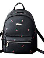 Women PU Casual Backpack Pink / Blue / Black