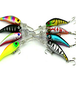 1 pcs kleiner Fisch kleiner Fisch Zufällige Farben 7.8 g Unze mm Zoll,Fester Kunststoff Köderwerfen
