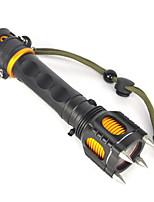 Eclairage Lampes Torches LED / Lampes de poche LED 2500 Lumens 1 Mode Cree XM-L T6 18650 Ultra légerCamping/Randonnée/Spéléologie /
