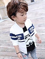 Boy's Casual/Daily Print Jacket & CoatCotton Spring / Fall Blue / White