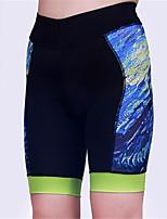 Esportivo Shorts para Ciclismo MulheresRespirável / Secagem Rápida / Design Anatômico / Resistente Raios Ultravioleta / Vestível / Tapete