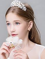 Women's Rhinestone Crystal Stainless Steel Titanium Headpiece-Wedding Special Occasion Casual Office & Career OutdoorTiaras Headbands