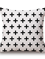 Polyester Decorative Cushion Pillow Cover Print Geometry Sofa Home Decor 45x45cm