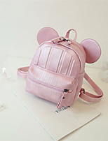 Для женщин Полиуретан На каждый день / Для отдыха на природе / Для шоппинга Рюкзак Розовый / Фиолетовый / Зеленый / Черный