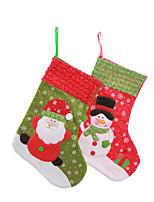 Снежинка Рождественская елка вышивка носки носки мешок подарка мешок подарка елки рождественский подарок мешок