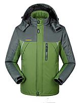 Hiking Softshell Jacket Men's Waterproof / Breathable / Thermal / Warm / Windproof / Wearable Fall/Autumn / Winter
