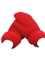 Wool Gloves (Big Red)