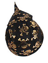 1PC Hallowmas   Pirate Skull Cap Decorate  Hallowmas Costume Party