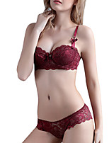 Shaperdiva  Women's Lace Push up Bra Set