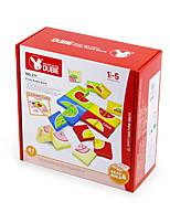 Пазлы Для получения подарка Конструкторы Квадратная Пластик Выше 3 Радужный Игрушки